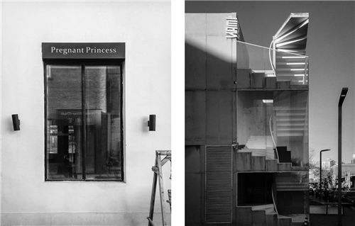 """3""""光的映射""""结课拍摄 作品名称:虚幻(左)矗立(右).png"""