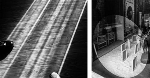 """4""""光的映射""""结课拍摄 结课拍摄 作品名称:踏光(左)洞悉(右).jpg"""